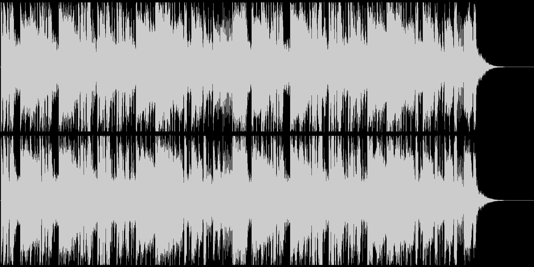 トランス系。おしゃれな音色&ベースの未再生の波形