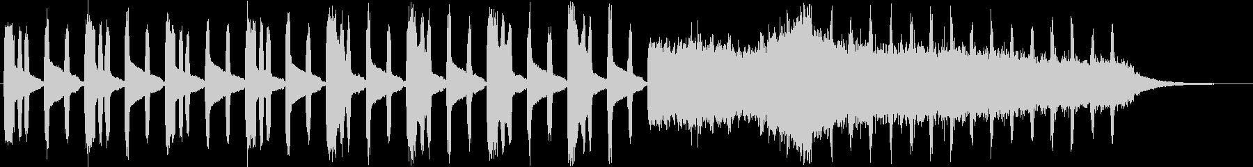 ファンタジーなオルガン・シンセサウンンドの未再生の波形