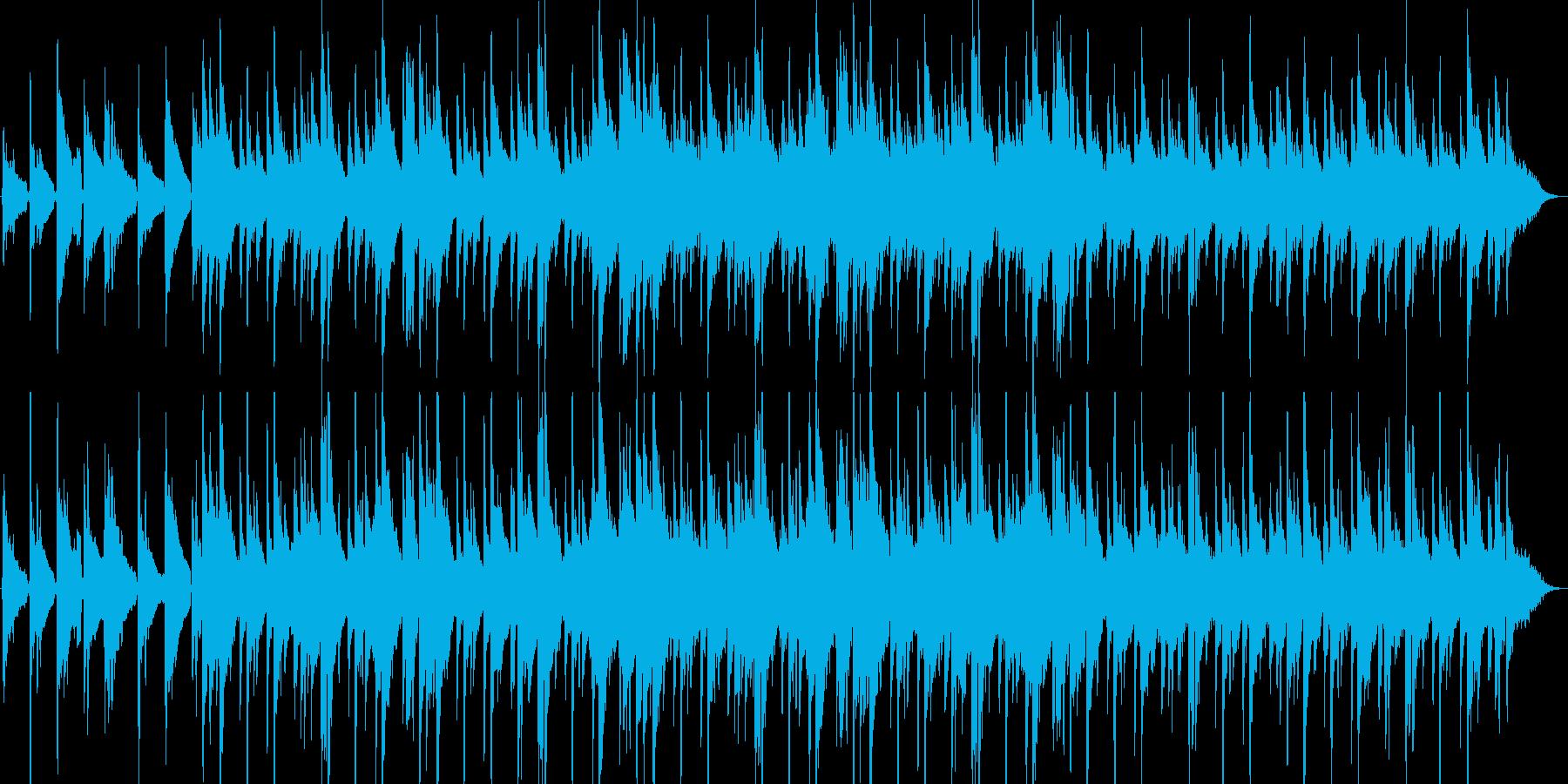 アコギとシンセの静かな挿入曲ですの再生済みの波形