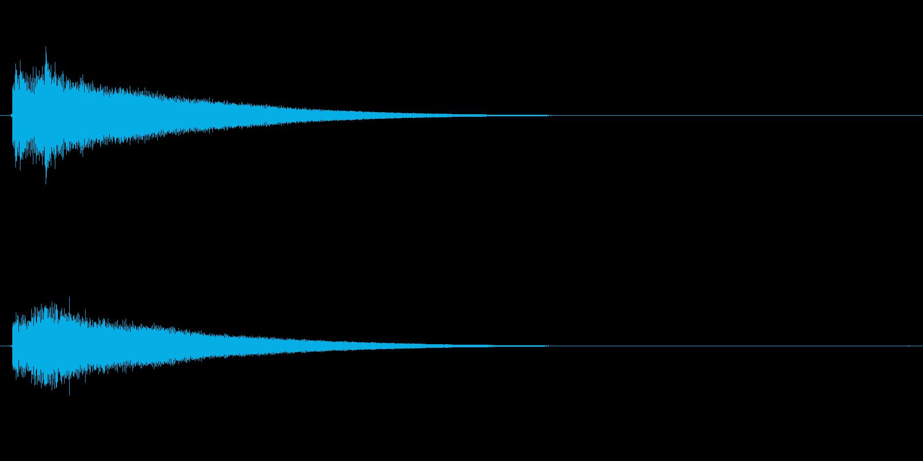 チャラ-の再生済みの波形