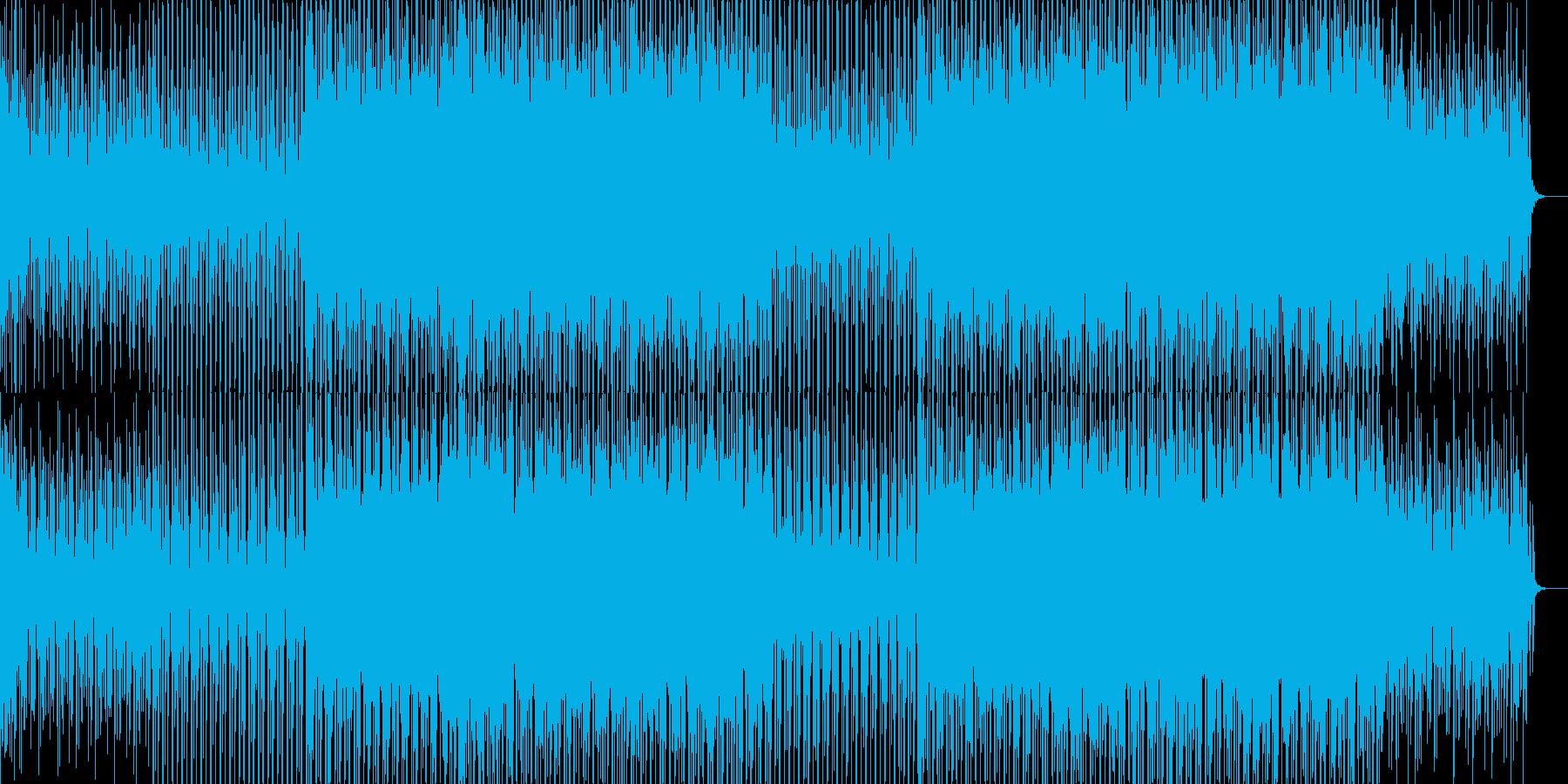 EDMクラブ系ダンスミュージック-51の再生済みの波形