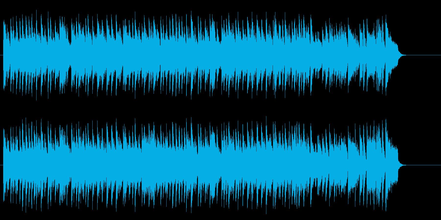 リゾート風ポップバラード(サビ~イン…)の再生済みの波形