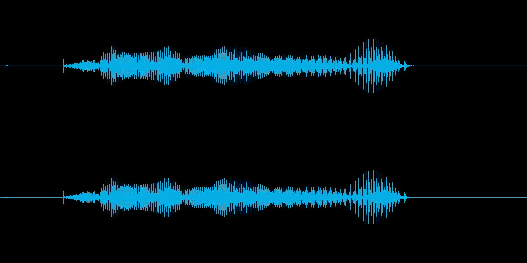 【年数】9年後の再生済みの波形