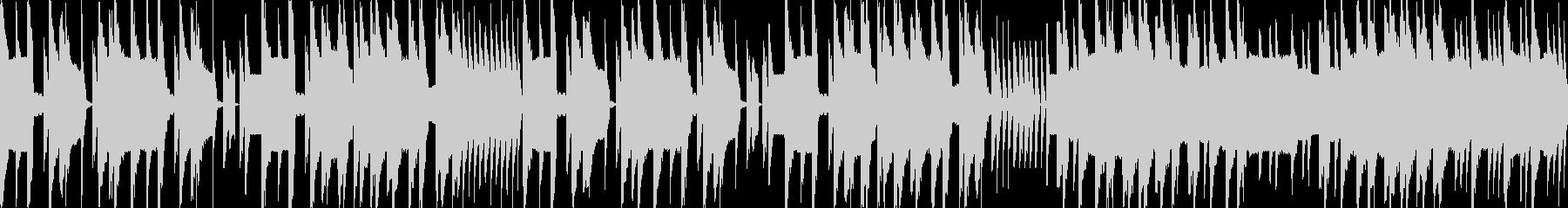 ループ素材リズミカルなファミコン風ジャズの未再生の波形