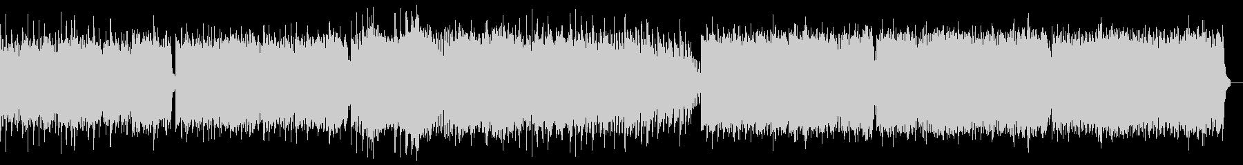 幻想的なリラクゼーションピアノBGMの未再生の波形