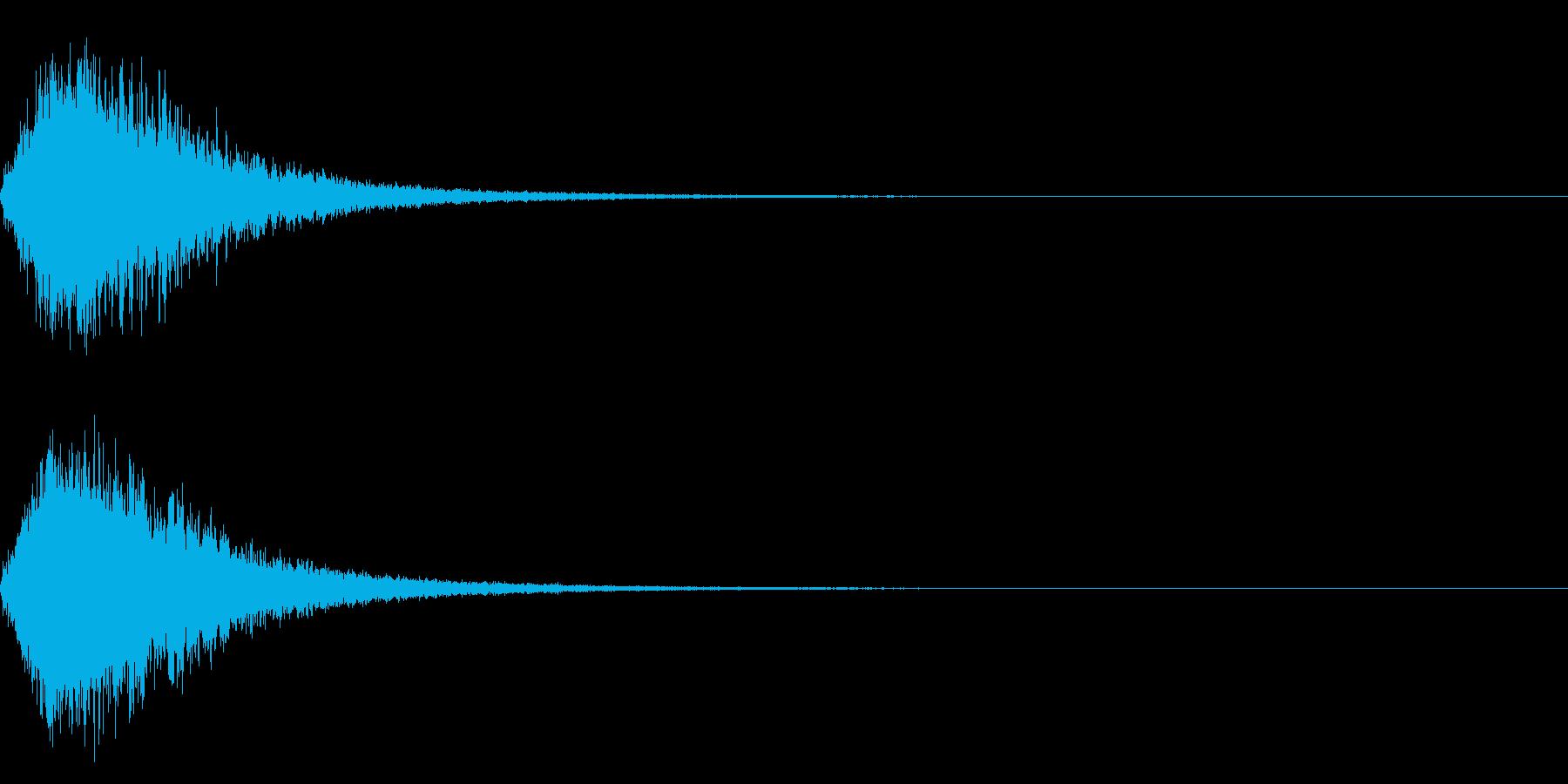 シャキーン☆星、回復、光などに最適16の再生済みの波形