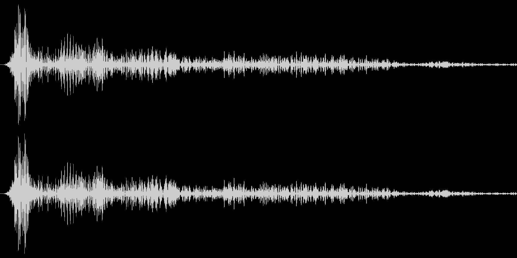ボヨヨーンの未再生の波形