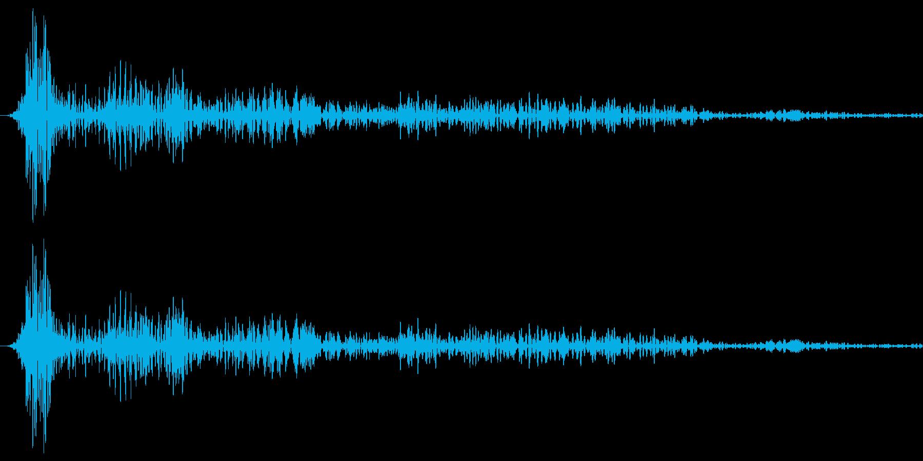 ボヨヨーンの再生済みの波形