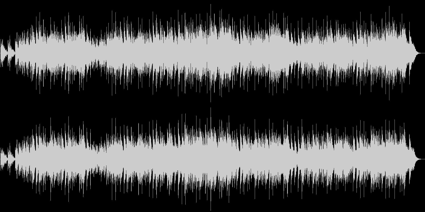 エレピ音でのメンデルスゾーン、結婚行進曲の未再生の波形