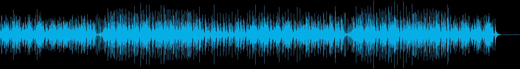 ベルと鉄琴木琴が軽快なアコースティックの再生済みの波形