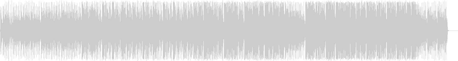 キュートなハミングと幻想的な淡いボサノバの未再生の波形