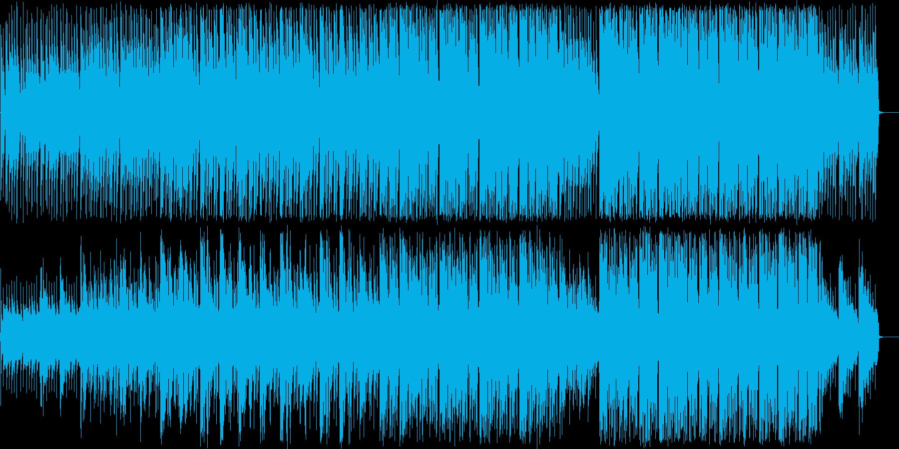 キュートなハミングと幻想的な淡いボサノバの再生済みの波形