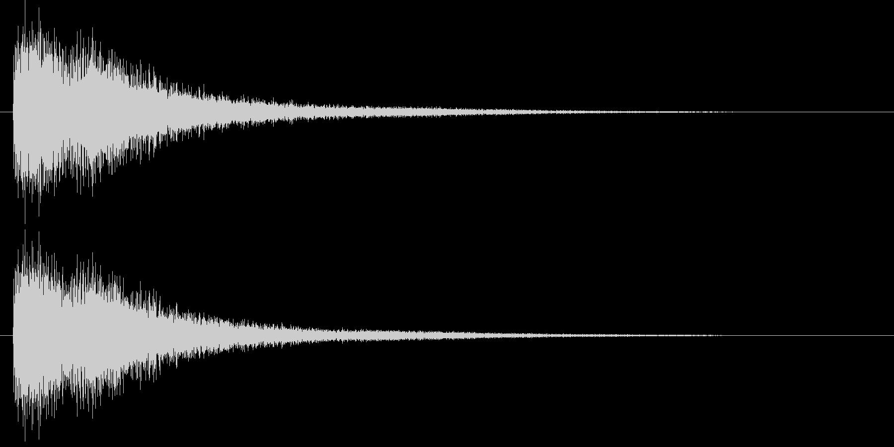 [シャン]中華風シンバル/中国/05の未再生の波形