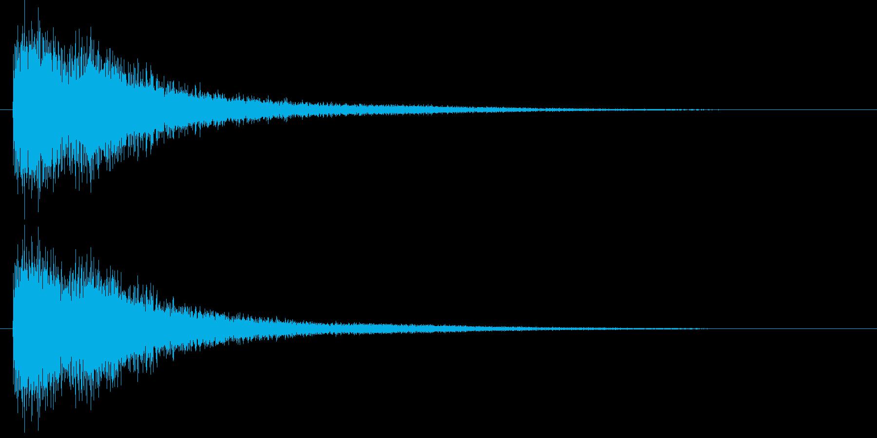 [シャン]中華風シンバル/中国/05の再生済みの波形