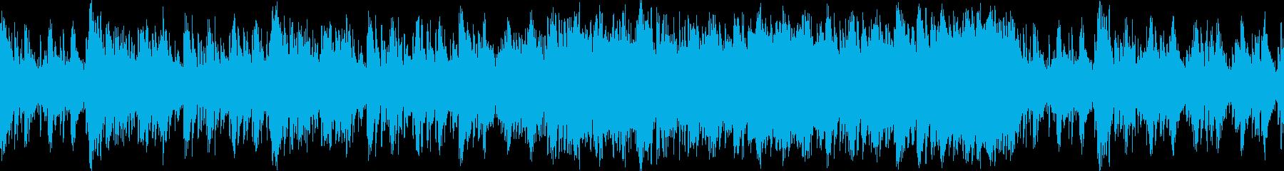 ムーディでちょっとだけブルーなラップ調…の再生済みの波形