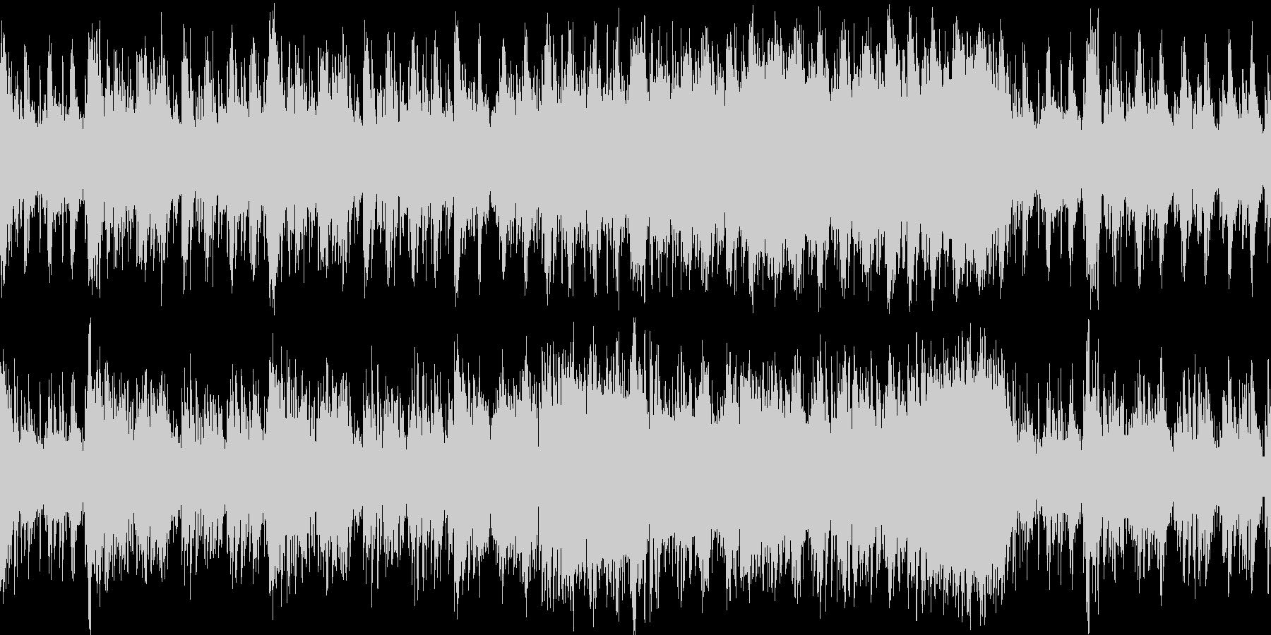 ムーディでちょっとだけブルーなラップ調…の未再生の波形