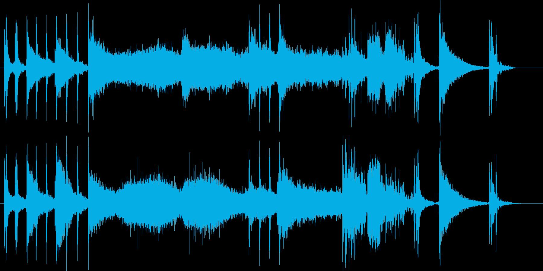 ドラム・ロール・エンディング【生録】の再生済みの波形