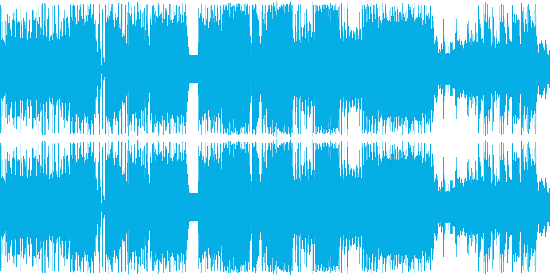 8bit ファンタジックな混沌の世界の再生済みの波形