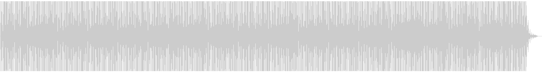deepEcho dubMinimalの未再生の波形