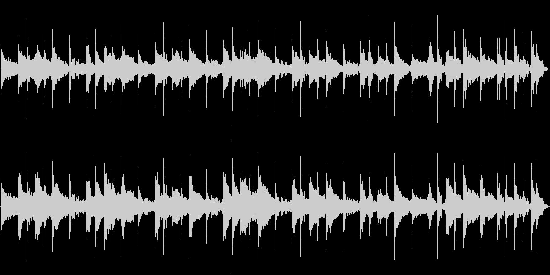【14秒ループ】軽快なウクレレポップス!の未再生の波形
