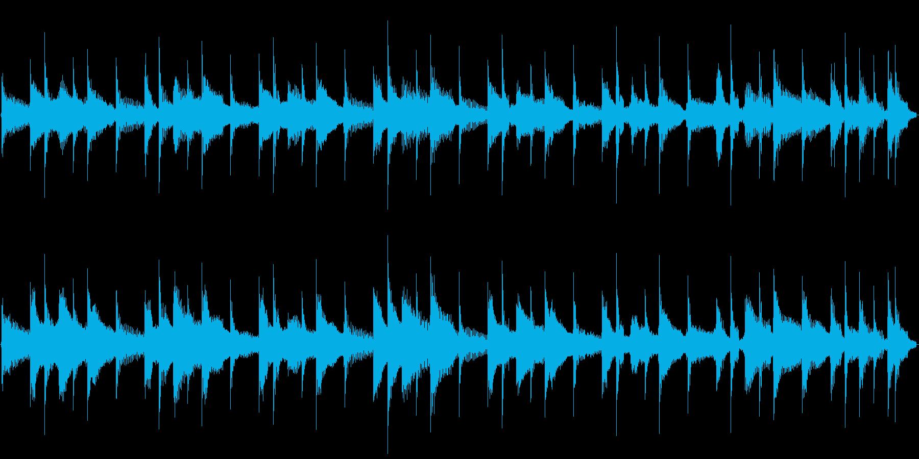 【14秒ループ】軽快なウクレレポップス!の再生済みの波形