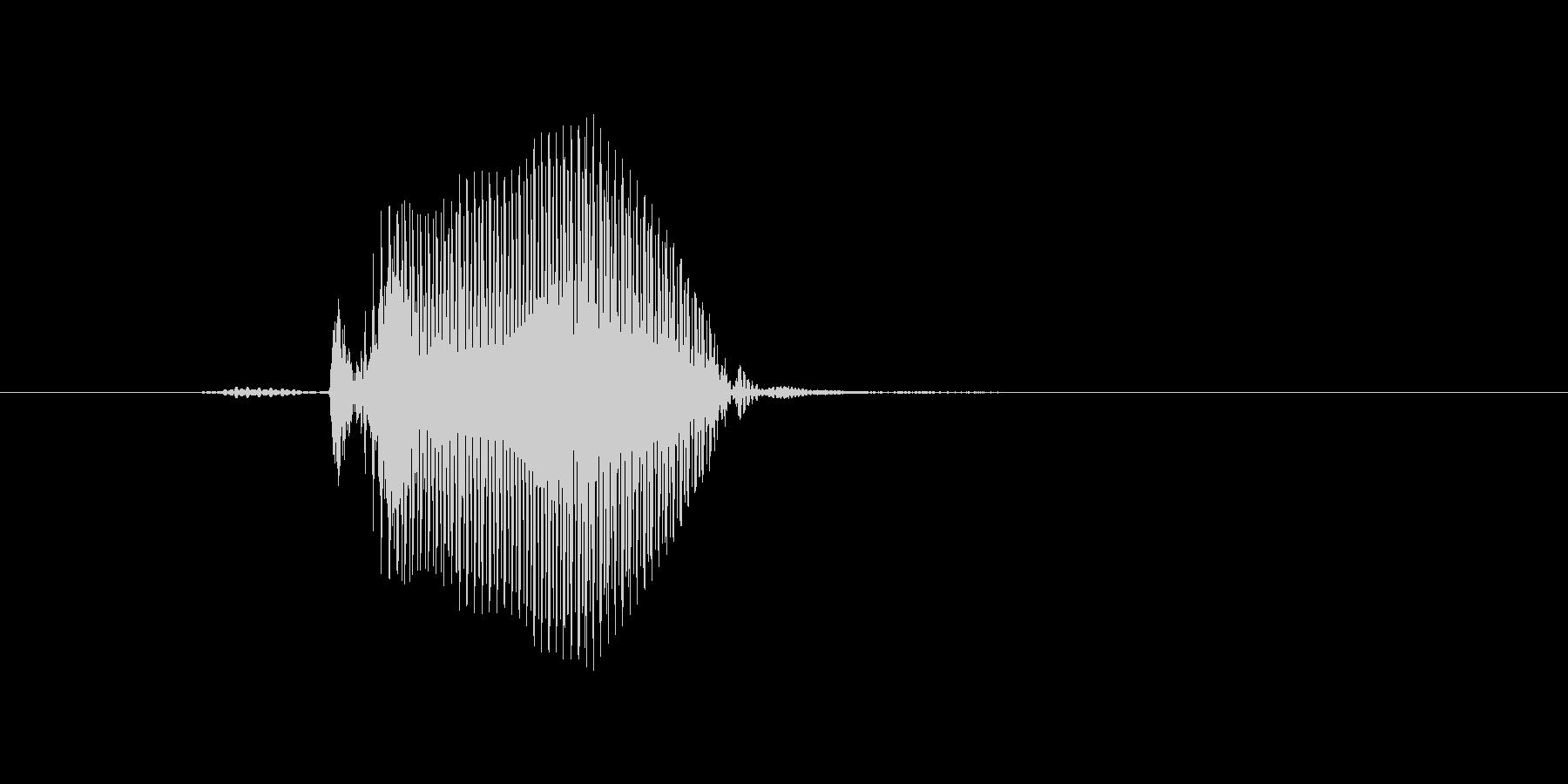 5(ご)の未再生の波形