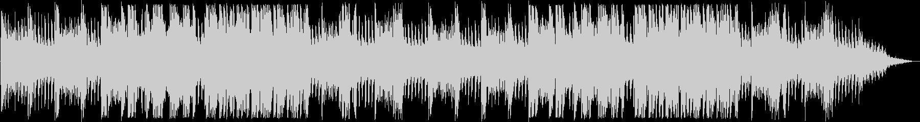 ドキドキ感のあるピアノなどのサウンドの未再生の波形