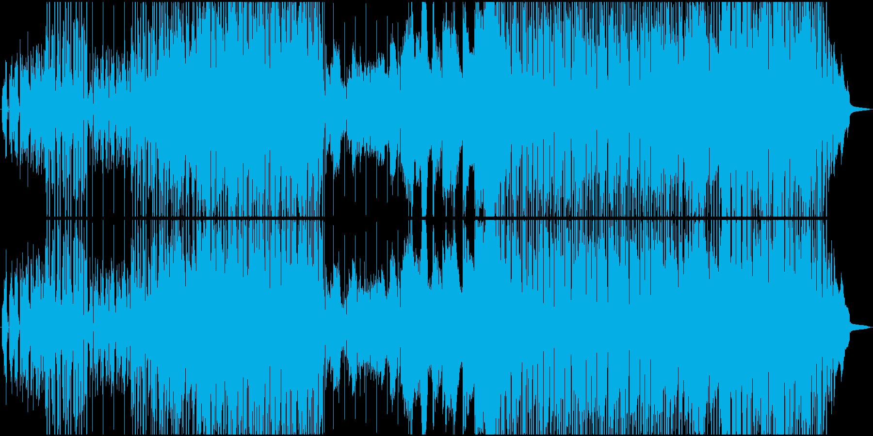 静かなバーで黄昏るR&B風バラードの再生済みの波形