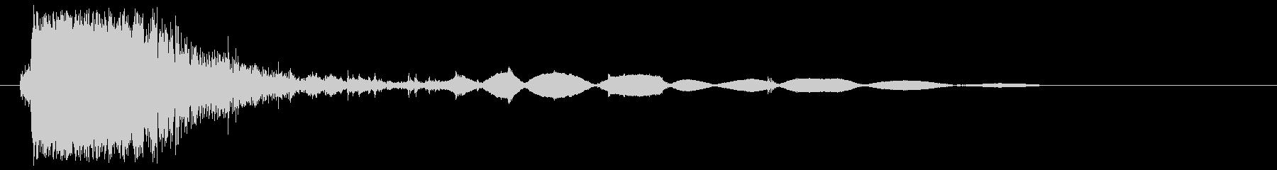 ガシャッ(物音)強めの未再生の波形