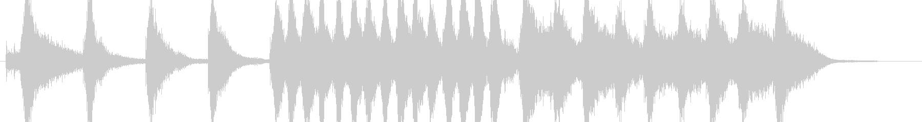 オーケストラ、マーチのんの未再生の波形