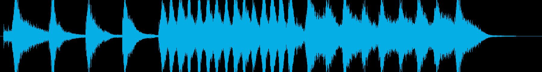 オーケストラ、マーチのんの再生済みの波形