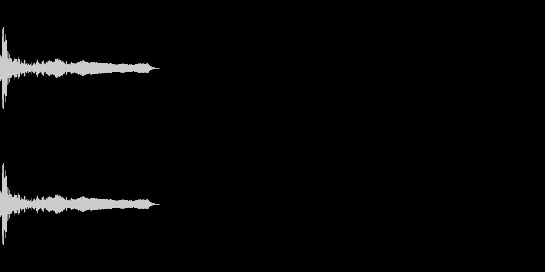 ポワ(click_051_ボタン2)の未再生の波形