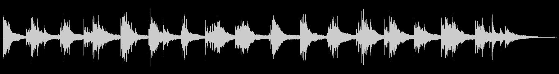 爽やか 物語の始まり 花 ■ ピアノソロの未再生の波形