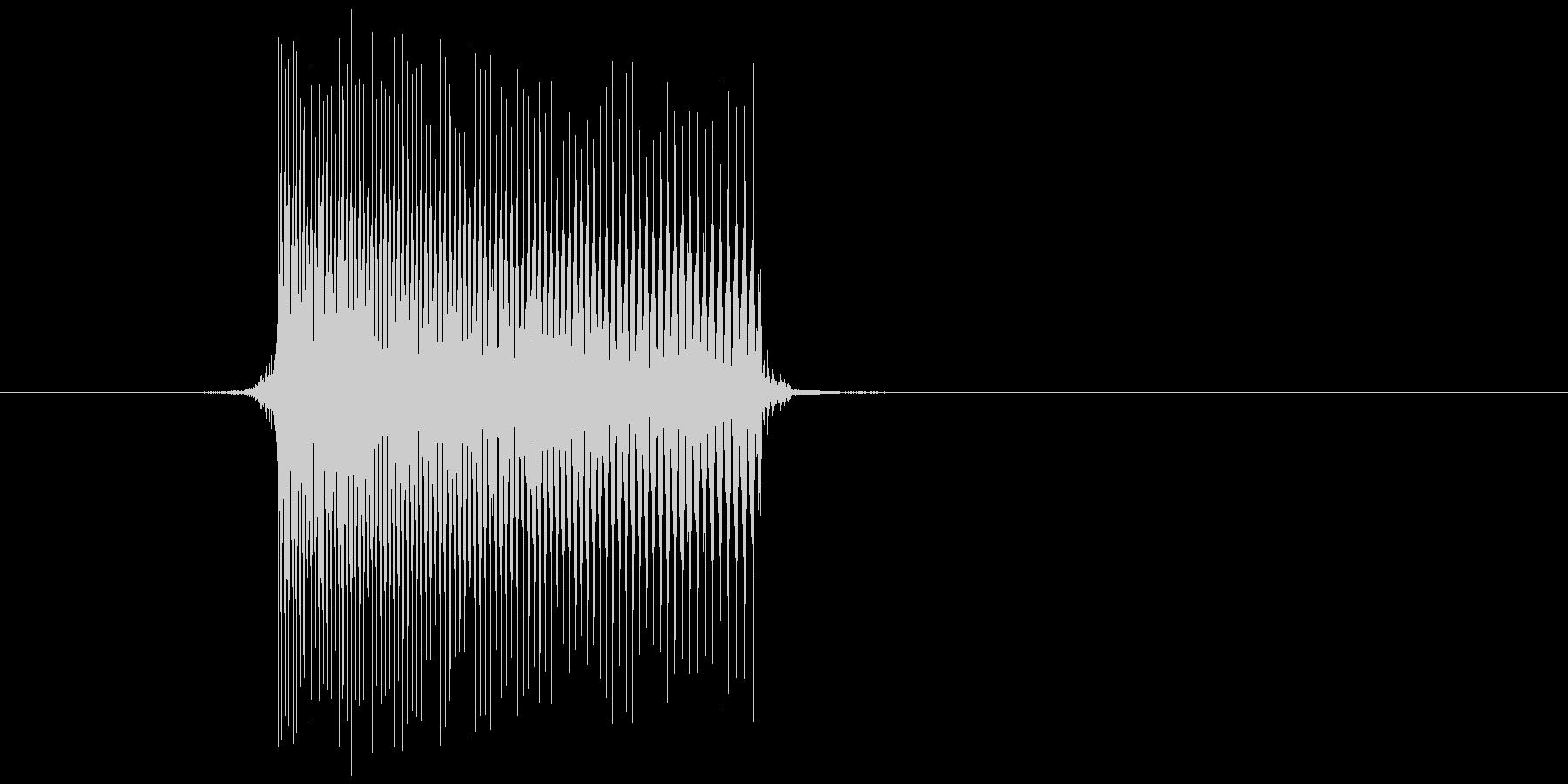 ゲーム(ファミコン風)レーザー音_005の未再生の波形