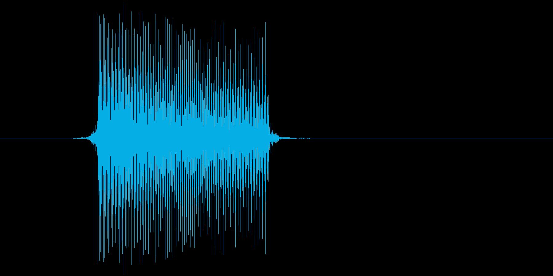 ゲーム(ファミコン風)レーザー音_005の再生済みの波形