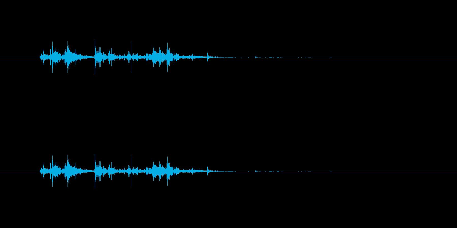 【チラシ01-2(めくる)】の再生済みの波形