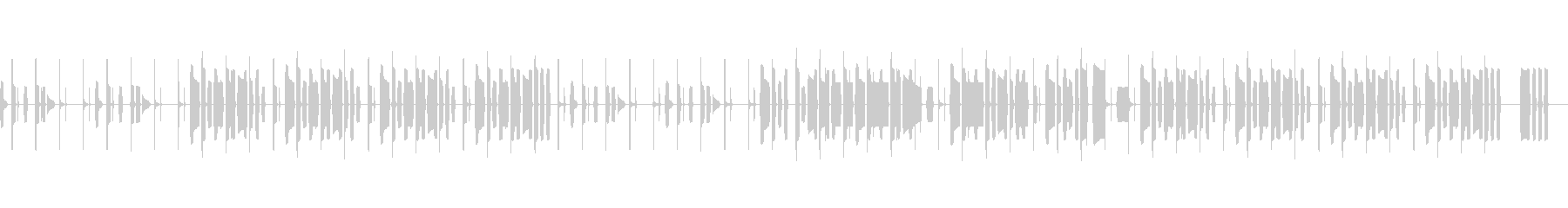 NHKっぽいほのぼのと明るいリコーダーの未再生の波形