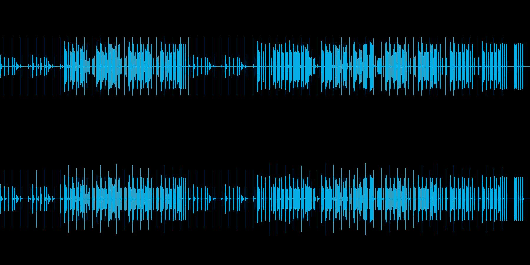 NHKっぽいほのぼのと明るいリコーダーの再生済みの波形