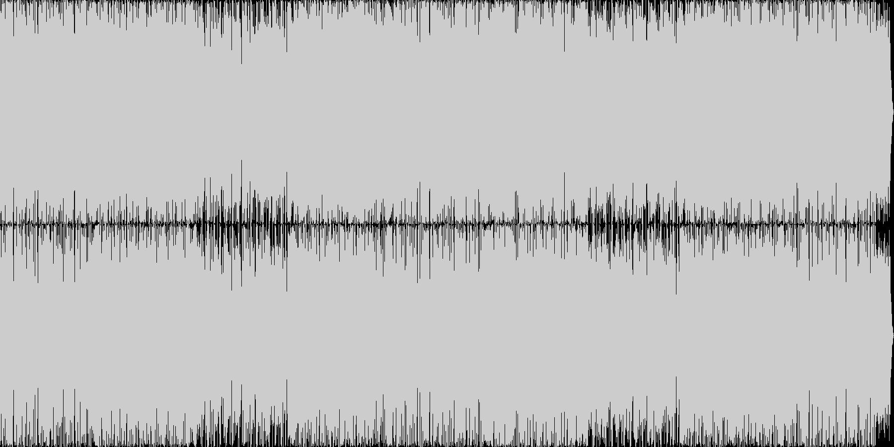 マリンバが可愛らしい個性的なインストの未再生の波形