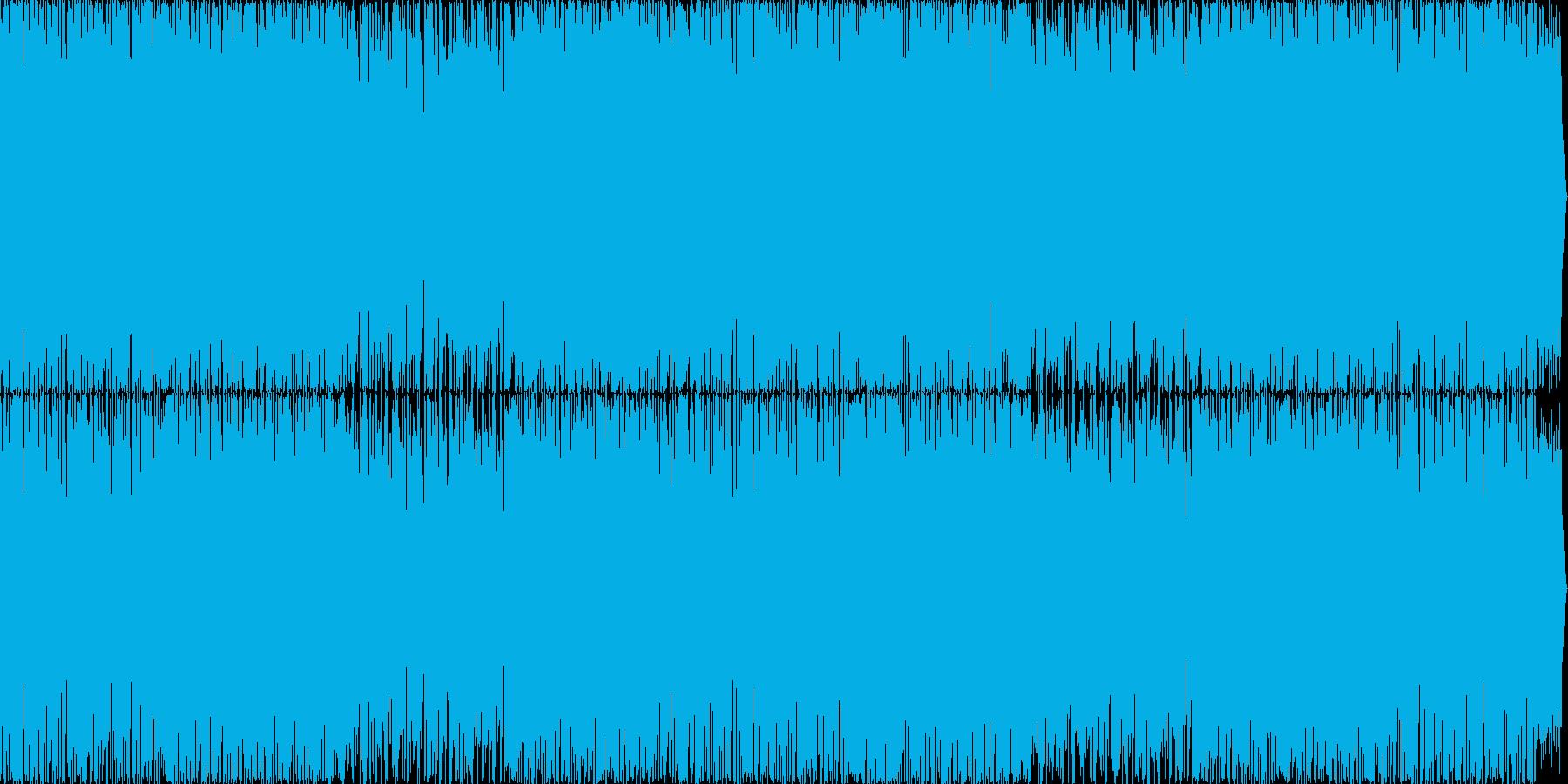マリンバが可愛らしい個性的なインストの再生済みの波形