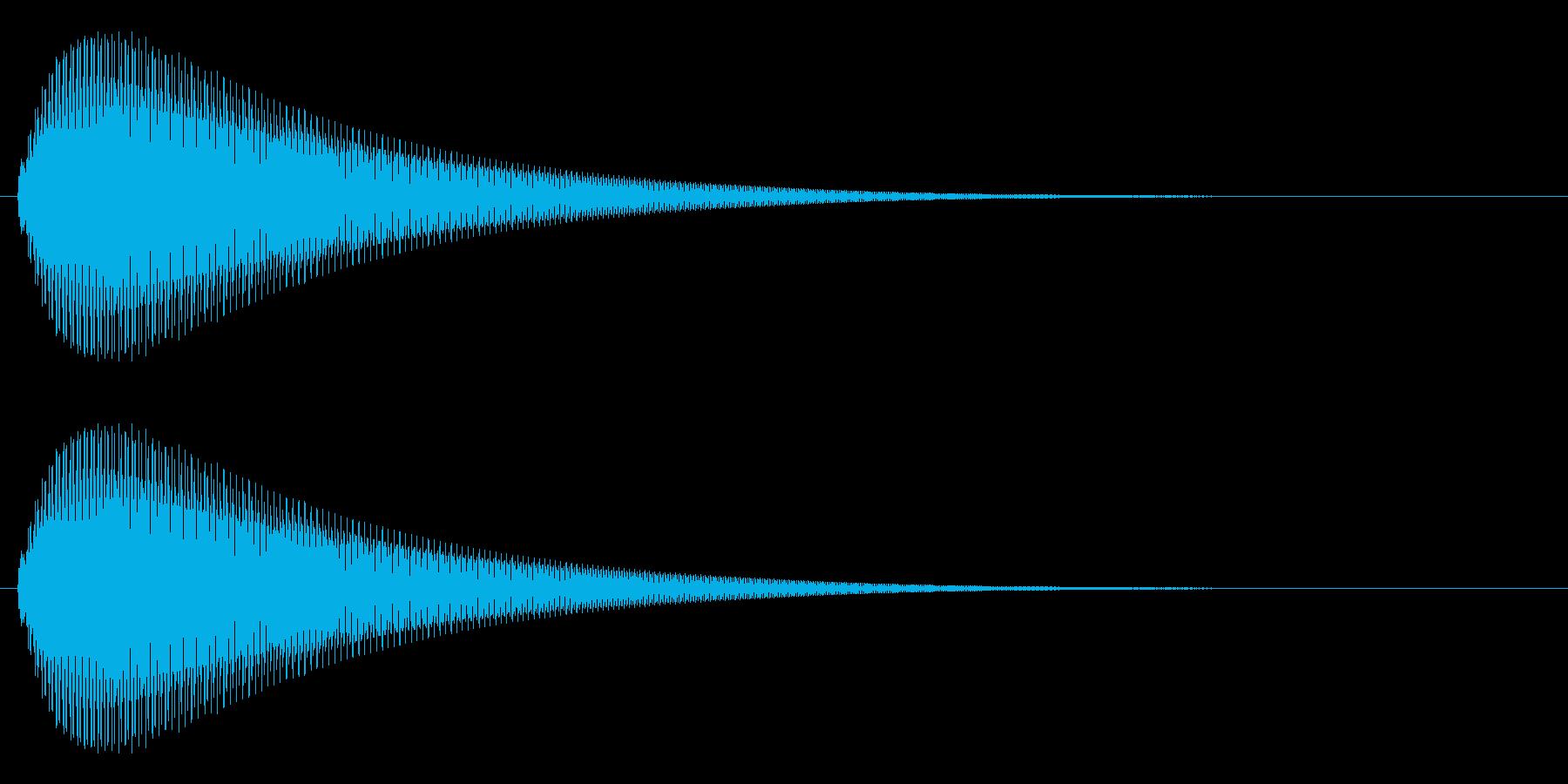 【ピヨーン】ファミコン系ジャンプ音_06の再生済みの波形