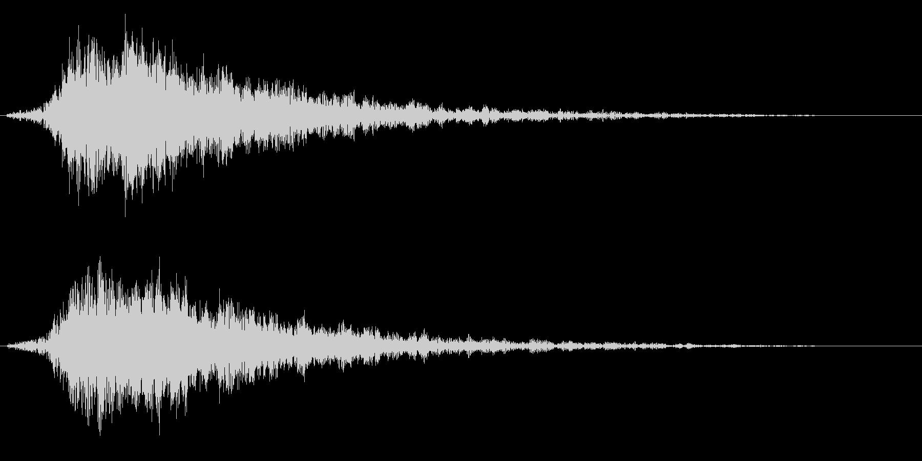 キラキラ(テロップ/魔法/輝きなど) 5の未再生の波形