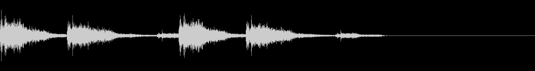ガッタンゴットン04(電車)の未再生の波形