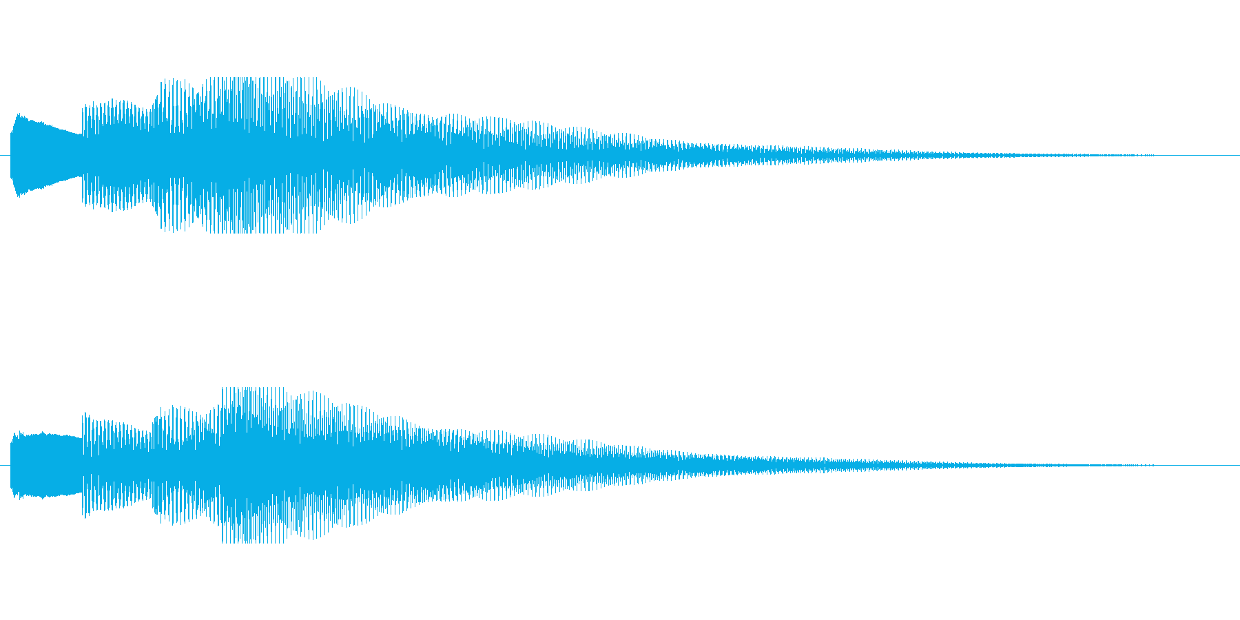 【チャイム アナウンス02-up2】の再生済みの波形