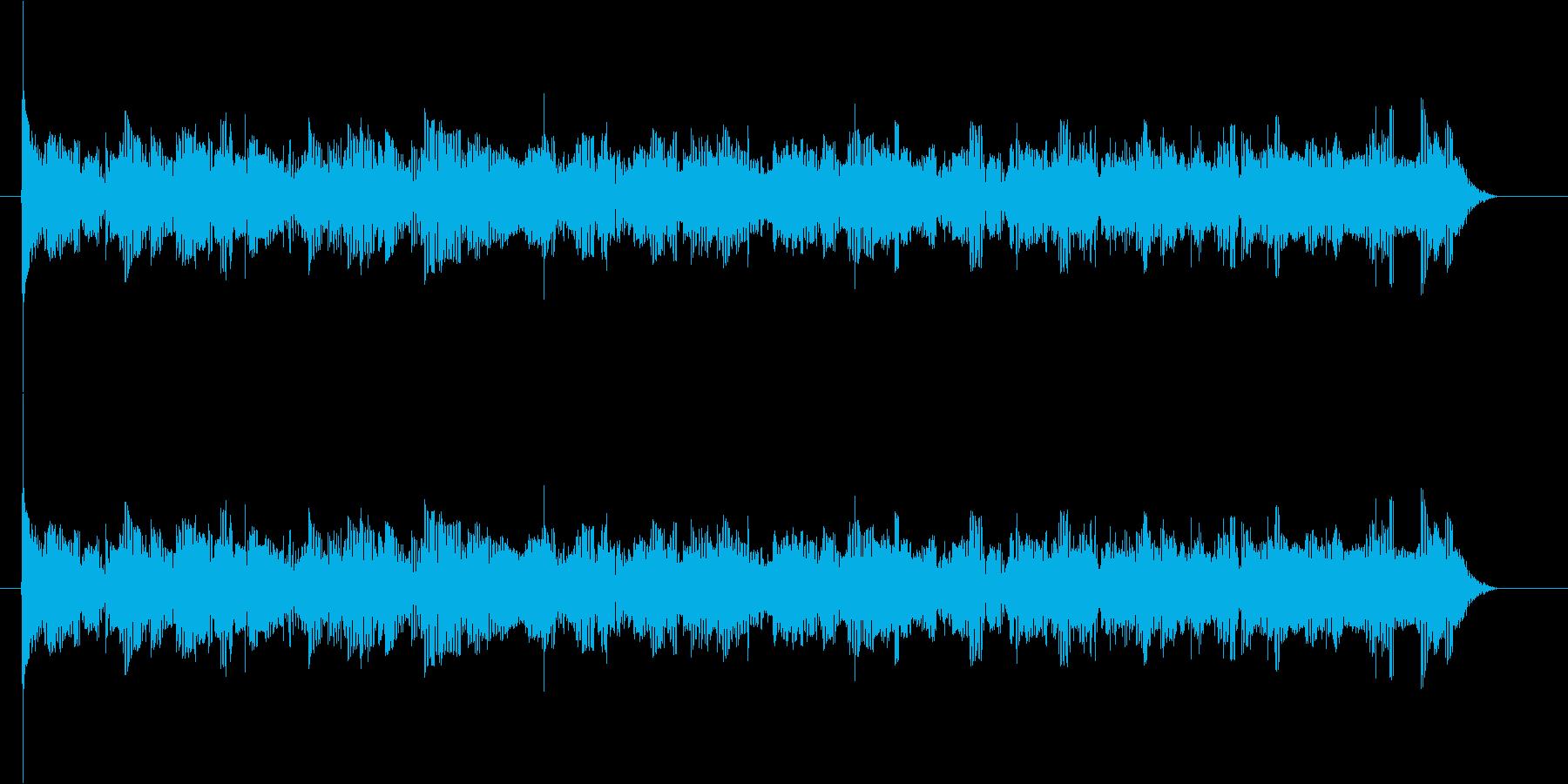 ボワボワ・・(不気味な宇宙人の会話)の再生済みの波形