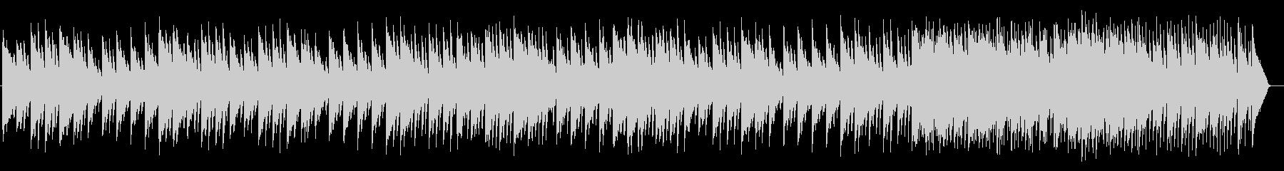 ガムランが特徴的なシンセミュージックの未再生の波形