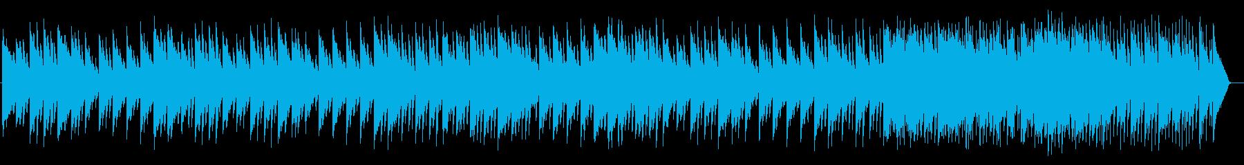 ガムランが特徴的なシンセミュージックの再生済みの波形