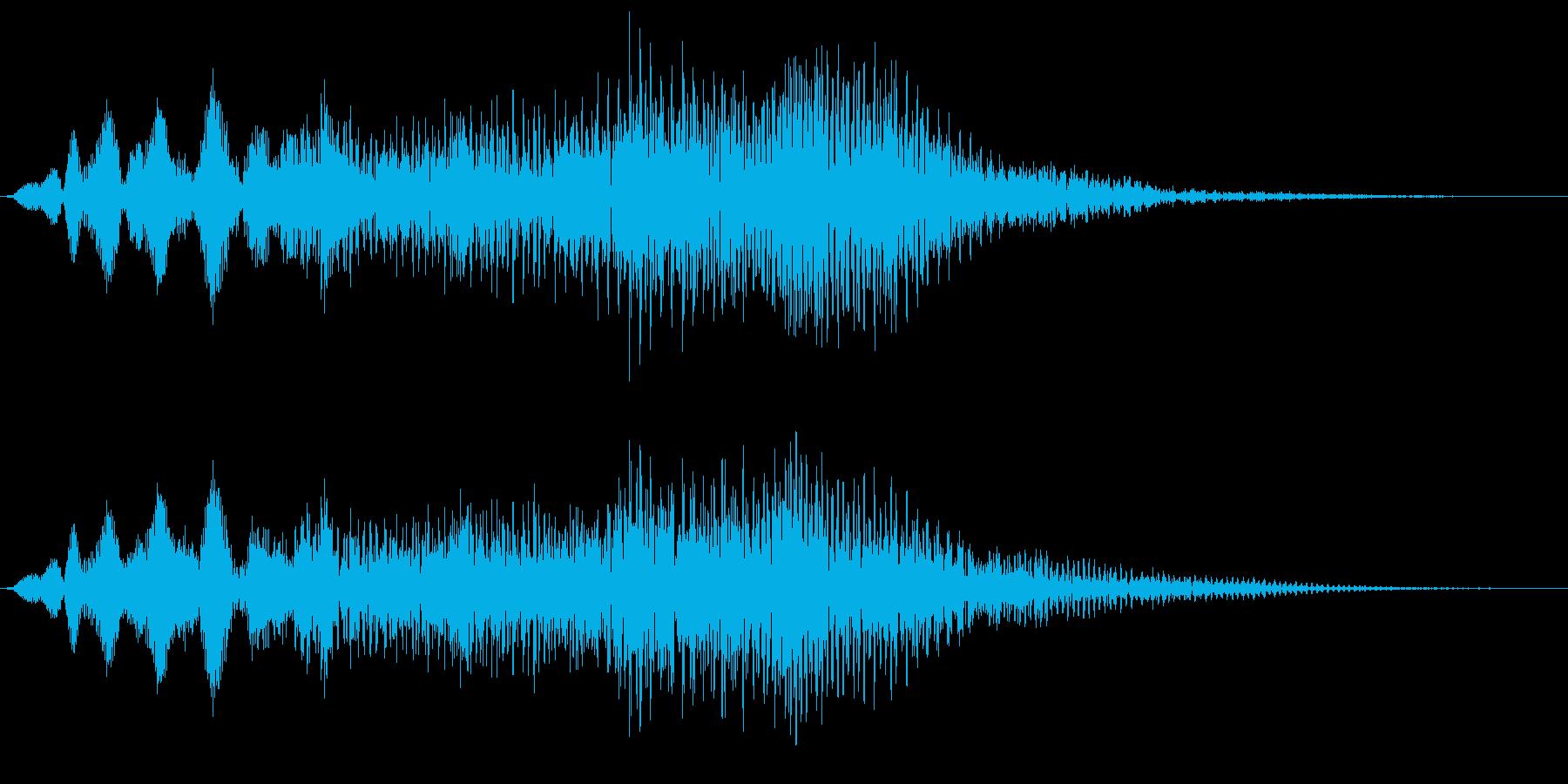 ンウォーン(マイナスイメージ_恐怖)の再生済みの波形