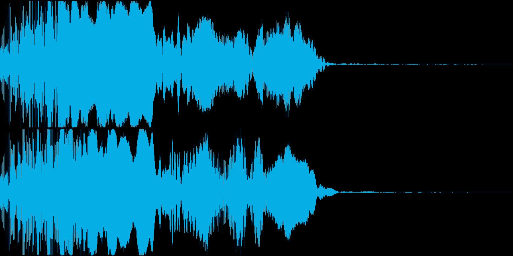 ピコン_必殺ゲージが溜まった時の音の再生済みの波形