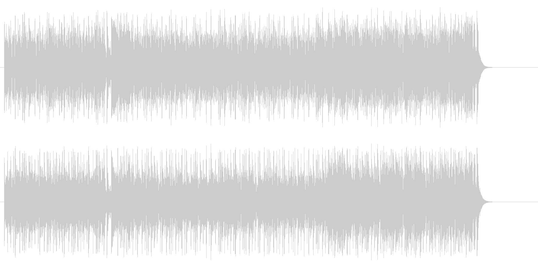 夢へと駆け出すポップ(イントロ~A~…)の未再生の波形